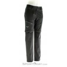 Salewa Puez 2DST W 2/1 Damen Outdoorhose-Schwarz-36