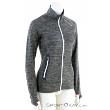 Ortovox Fleece Light Melange Damen Sweater-Grau-M