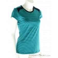 Super Natural NRG SS Top Damen T-Shirt-Blau-XS