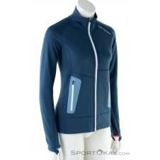 Ortovox Fleece Light Damen Fleecejacke-Blau-S