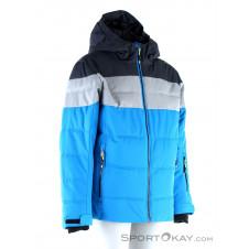 CMP Fix Hood Jungen Skijacke-Grau-140