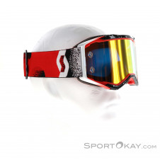 Scott Prospect Goggle Downhillbrille-Rot-One Size