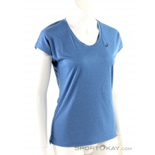 Asics Capsleeve Top Damen T-Shirt-Blau-S