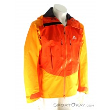 Salomon S-LAB X Alp Pro Jacket Herren Outdoorjacke Gore-Tex-Orange-XL