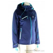 Salomon Speed Jacket Damen Skijacke-Blau-S