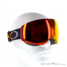 Oakley Flight Deck XM Prizm Halo Skibrille-Schwarz-One Size