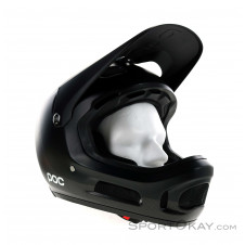 POC Coron Air Carbon Spin Black Downhill Helm-Schwarz-XS-S