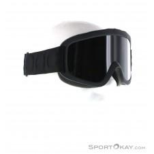 POC Iris X All Black Skibrille-Schwarz-M