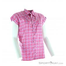 Haglöfs Tana Q SS Shirt Damen Outdoorbluse-Pink-Rosa-XS
