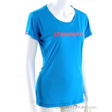 Dynafit Traverse SS Damen T-Shirt-Blau-34