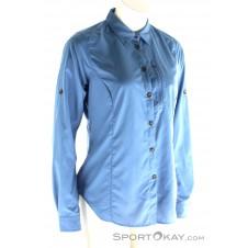 Fjällräven Abisko Hike Shirt LS Damen Outdoorbluse-Blau-S