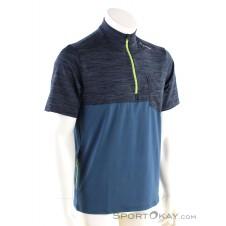 Löffler Rainbow HZ Herren T-Shirt-Blau-46