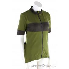 Super Natural Grava Jersey Damen Bikeshirt-Oliv-Dunkelgrün-S