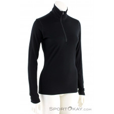 Icebreaker 200 Oasis L/S HZ Damen Outdoorsweater -Schwarz-M