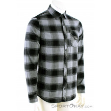 Fox Longview LTWT Flannel Herren Outdoorhemd-Grau-M