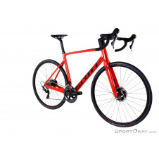 "Scott Addict RC 10 28"" 2020 Rennrad-Rot-S"