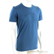 Ortovox 150 Cool Hug Herren T-Shirt-Blau-S