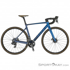 "Scott Addict RC 20 28"" 2021 Rennrad-Blau-M"