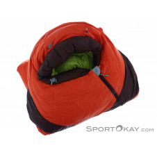 Mammut Altitude Down Winter Daunenschlafsack links-Orange-195