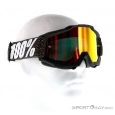 100% Accuri JR Youth Anti Fog Mirror Lens Downhillbrille-Schwarz-One Size