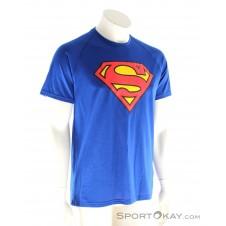 Under Armour Superman Tee Herren Fitnessshirt-Blau-L