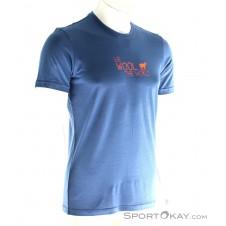 Ortovox Cool World Herren T-Shirt-Blau-S