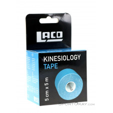 LACD Kinesiology Tape 5m x 5cm Tape-Blau-One Size