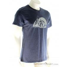 Sportokay.com Mountain Herren T-Shirt-Blau-S