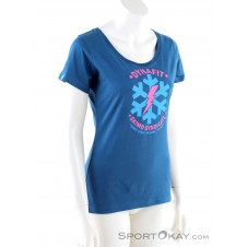 Dynafit Graphic CO W S/S Damen T-Shirt-Blau-34