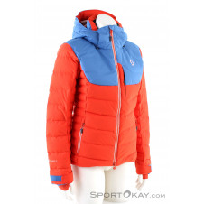 Scott Ultimate Down Damen Skijacke-Orange-36