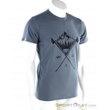Dynafit Transalper Graphic SS Herren T-Shirt-Grau-M
