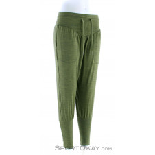 Super Natural Harem Pants Damen Fitnesshose-Grün-XS