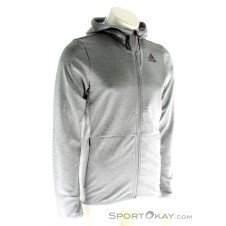 adidas Climacool Workout Hoodie Herren Trainingssweater-Grau-M