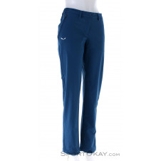 Salewa Puez 2 DST Damen Outdoorhose-Blau-34