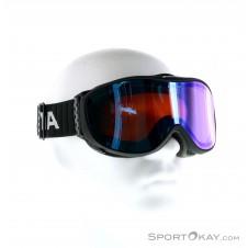 Alpina Panoma Magnetic QS OTG Skibrille-Schwarz-One Size