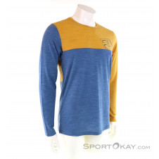 Ortovox 150 Cool Logo LS Herren Shirt-Blau-S