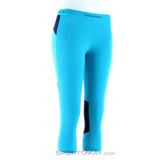 Icebreaker 260 Zone Legless Damen Leggings-Blau-S