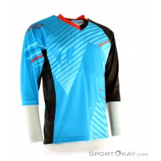 Dainese Flow Tec Jersey 3/4 Bikeshirt-Blau-S
