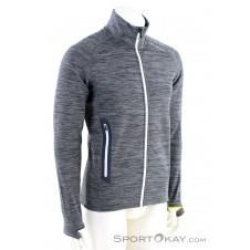Ortovox Fleece Light Melange Herren Sweater-Grau-M