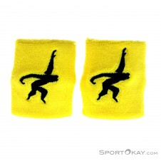 Gibbon Wristbands Schweißbänder-Gelb-One Size
