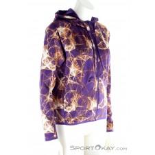 adidas Printed Gym Damen Trainingssweater-Mehrfarbig-S