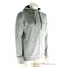 Icebreaker Shifter LS Zip Hood Herren Outdoorsweater-Grau-M