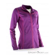Salomon Atlantis FZ Damen Skisweater-Lila-XS