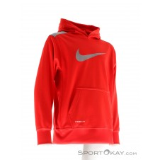 Nike KO 3.0 Over-The-Head Jungen Trainingssweater-Rot-XS