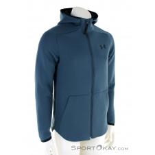 Under Armour Move FZ Hoodie Herren Sweater-Blau-M