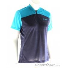 Vaude Tremalzo Shirt IV Damen Bikeshirt-Blau-S