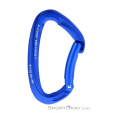 Mammut Crag Key Lock Straight Gate Karabiner-Blau-One Size
