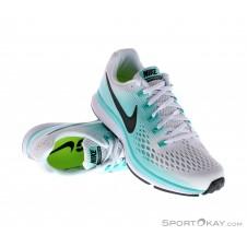 Nike Air Zoom Pegasus Damen Laufschuhe-Weiss-6,5