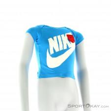 Nike Futura GFX SS Kinder Freizeitshirt-Blau-3-6