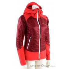 Ortovox Swisswool Piz Palü Jacket Damen Tourenjacke-Rot-XS